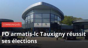 FO, 1er syndicat du site Armatis-Lc de Tauxigny